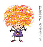 Crazy Hair Cartoon Clip Art Download 1000 Clip Arts  Page 1