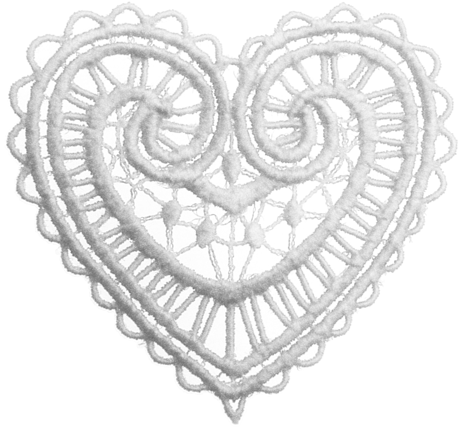 Eri Doodle Designs And Creations  Lace Hearts