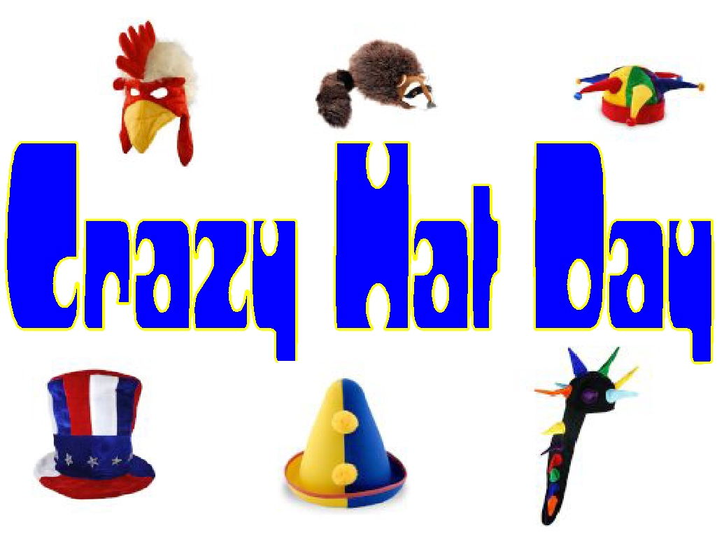 February 14th Is Spirit Day And Crazy Hat Day    Blythe Park Pta