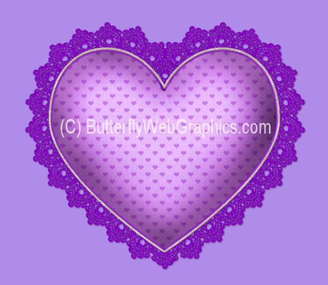 Heart Clipart Heart Valentines Fancy Lace Hearts  Great For Your