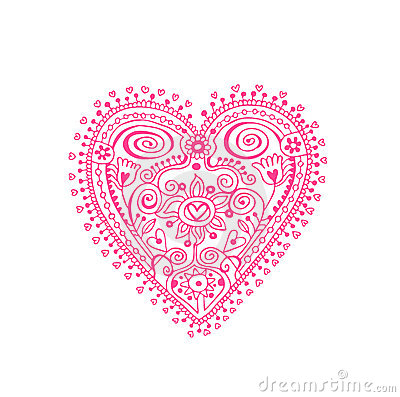 Lace Heart Clipart Lace Heart Royalty Free Stock