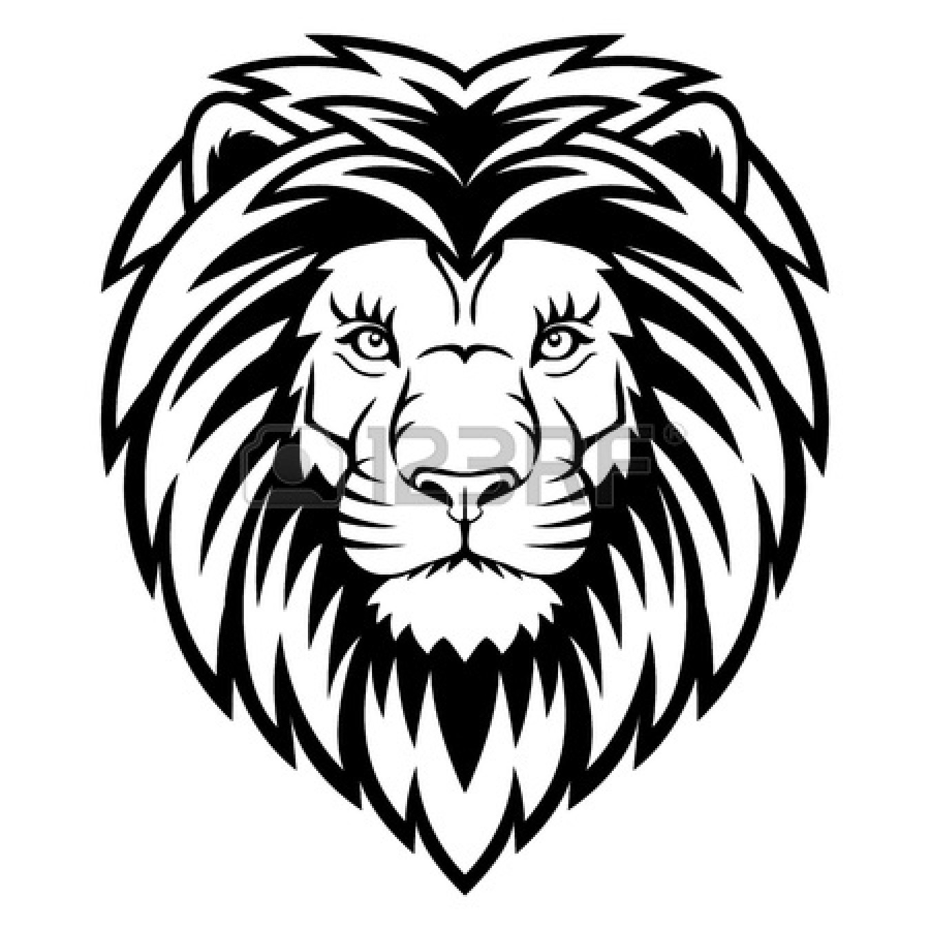Lion Clipart Black And White   Clipart Panda   Free Clipart Images