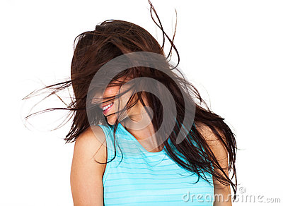 Messy Hair Stock Images   Image  28454884