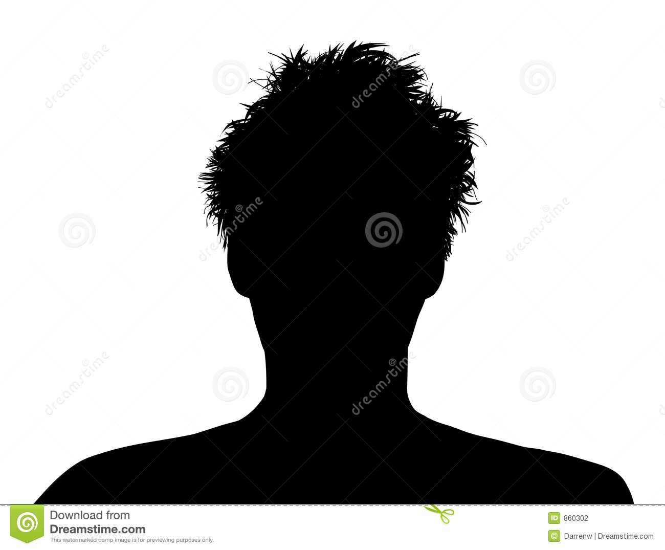 Messy Hair Stock Photography   Image  860302