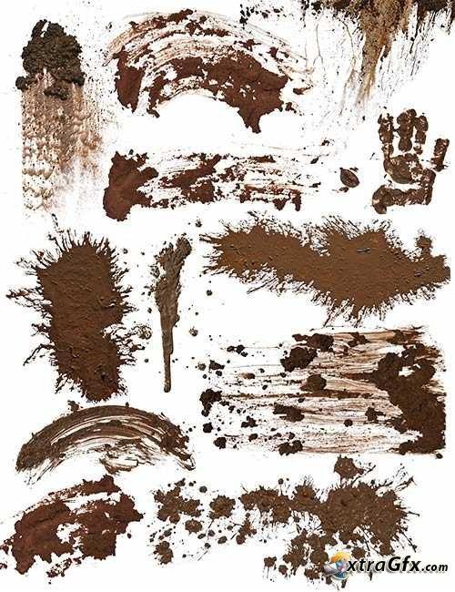 Muddy Tractor Clip Art : Mud splatter clipart suggest