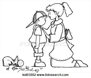 Of Child And Mother With Broken Vase   Fotosearch   Search Clipart