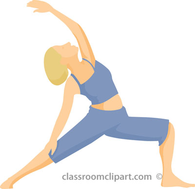 Physical Fitness Clipart   Yoga Standing Pose 01 21223   Classroom