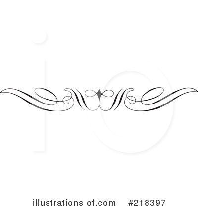 Scroll Border Clip Art Free Download Royalty Free  Rf  Border