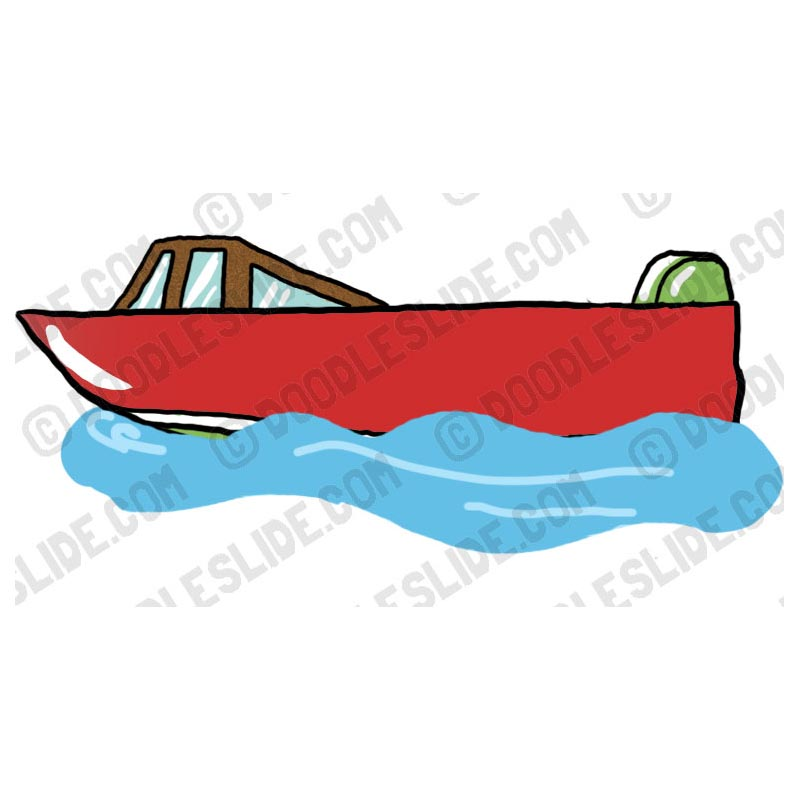 Speed Boat Clipart - Clipart Kid