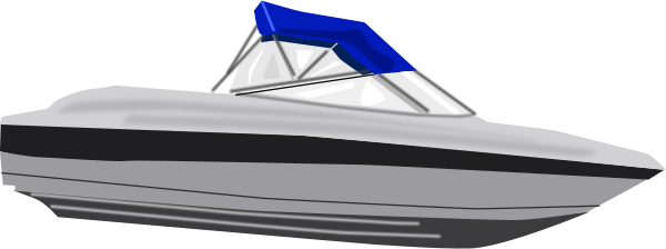 Speed Boat Clipart Medium Size