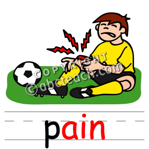 Sports Injury Illustrations And Clipart