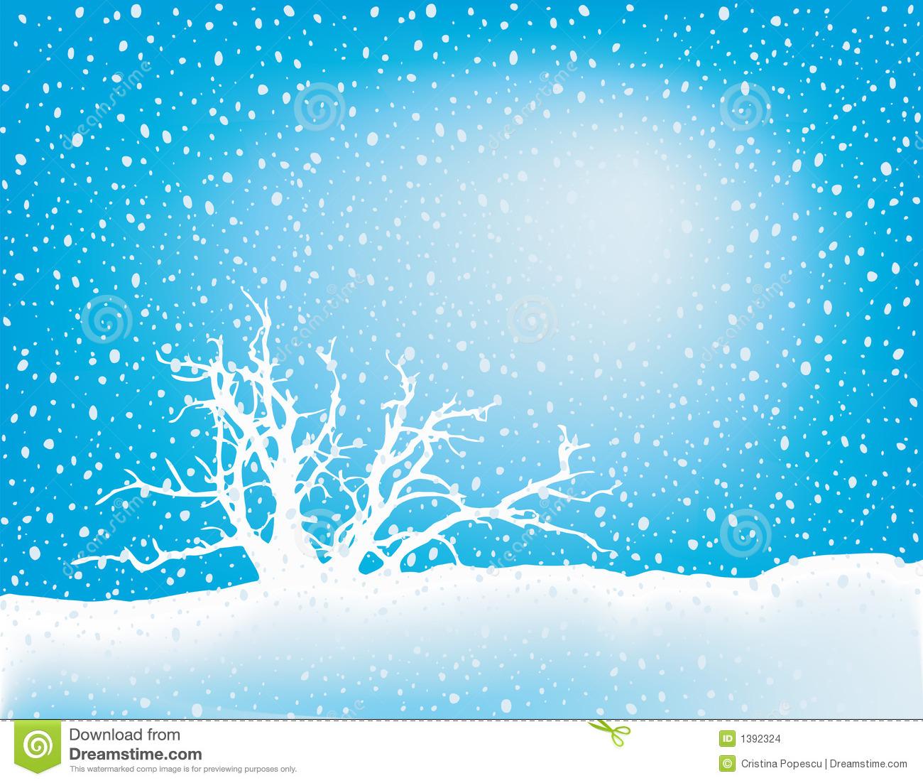 clipart snow scene - photo #29
