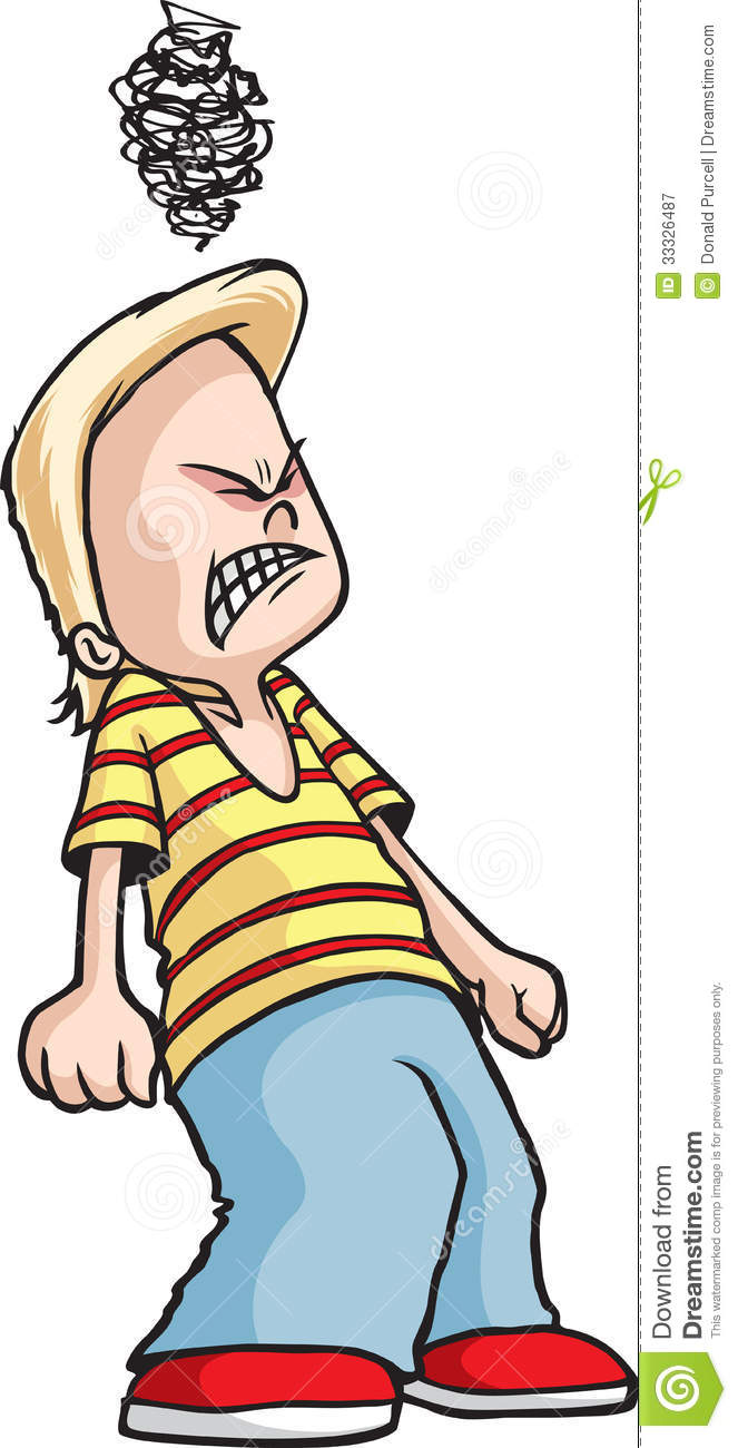 Mad Boy Clipart - Clipart Suggest