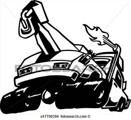 Tow Truck Vector Clipart - Clipart Kid