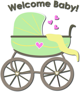 Baby Shower Clip Art Images Baby Shower Stock Photos   Clipart Baby