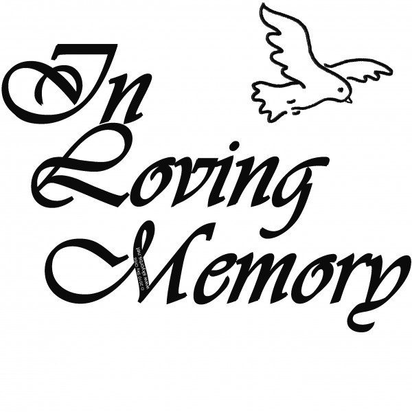 In Loving Memory Clipart - Clipart Kid