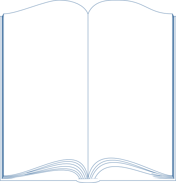 Book Template Word Clip Art At Clker Com   Vector Clip Art Online