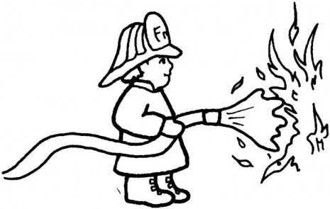 Cartoon Fireman Putting Out Fire   Clipart Panda   Free Clipart Images