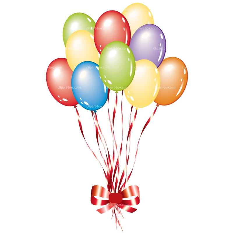 new years balloons clip art - photo #11