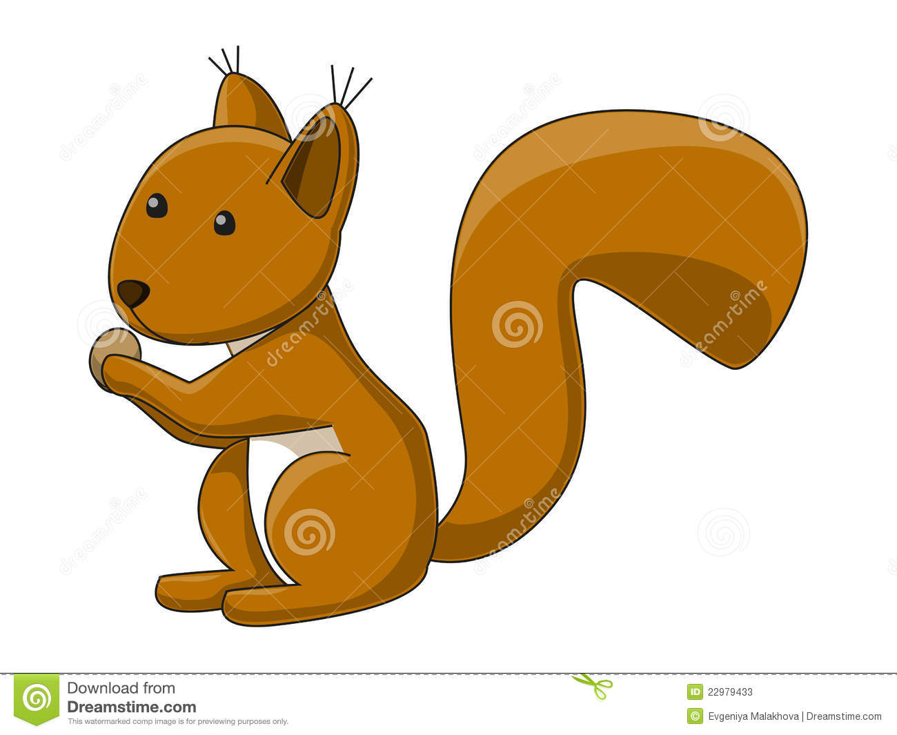 Cute Squirrel Clipart Cute Squirrel Stock Photos