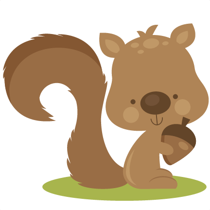 Fall Squirrel Svg Cutting Files For Scrapbooking Fall Svg Cut Files