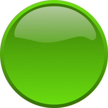 Green Circle Clipart Button Green Clip Art