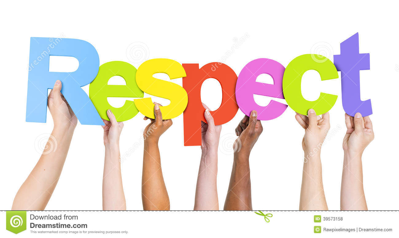 Human Hands Holding Word Respect Stock Photo   Image  39573158