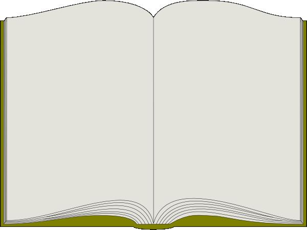 Open Book Clip Art At Clker Com   Vector Clip Art Online Royalty Free