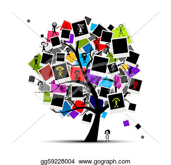 Paper Collage Frames Theme   Png Frame