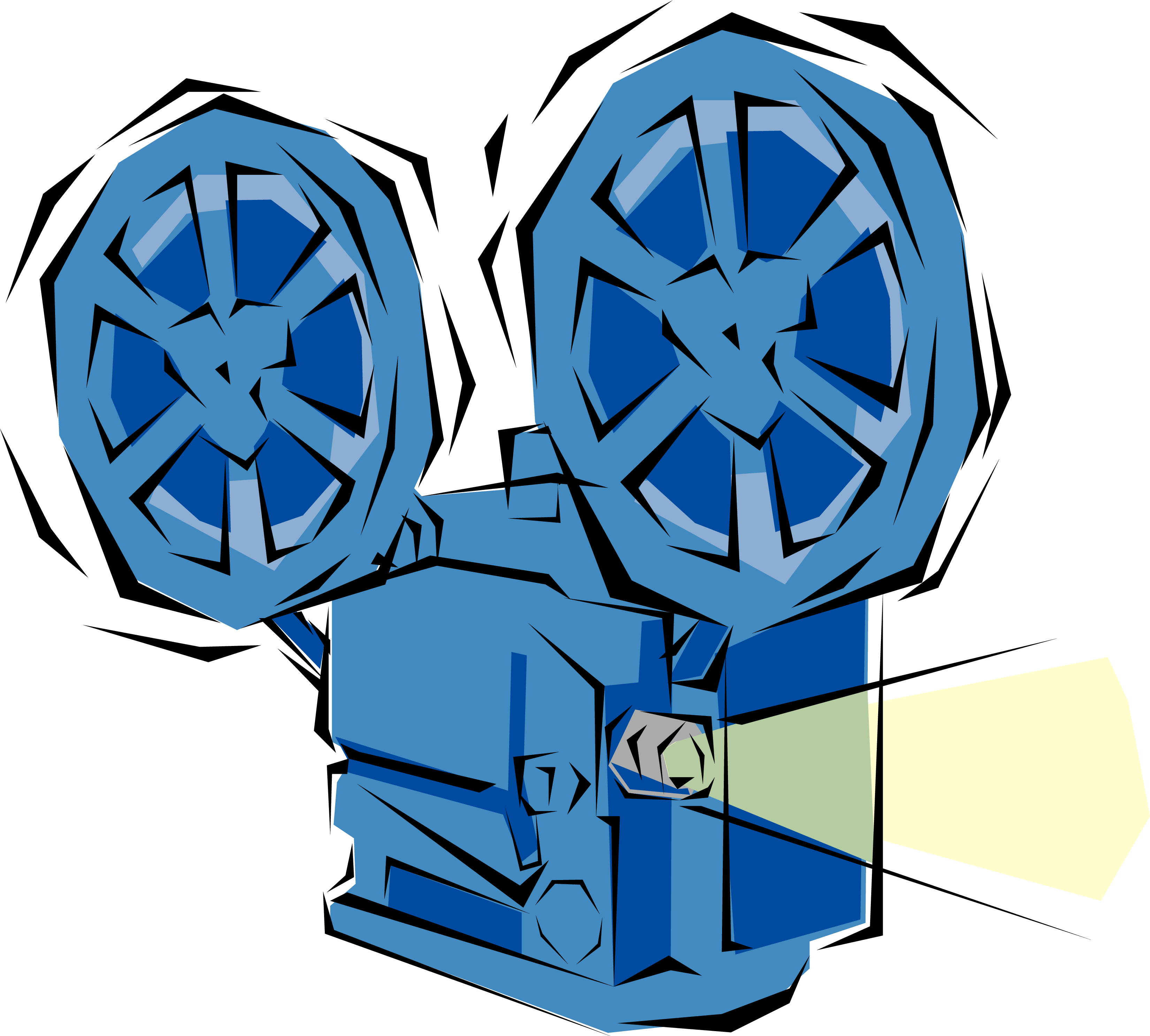 clipart of movie projector - photo #6