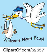 Royalty Free  Rf  Welcome Baby Clipart   Illustrations  1