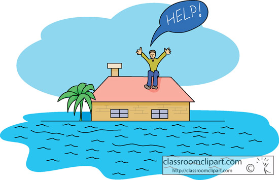 Weather   Flash Flood Rescue   Classroom Clipart