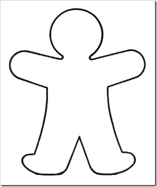 Blank Paper Doll Clipart Clipart Suggest