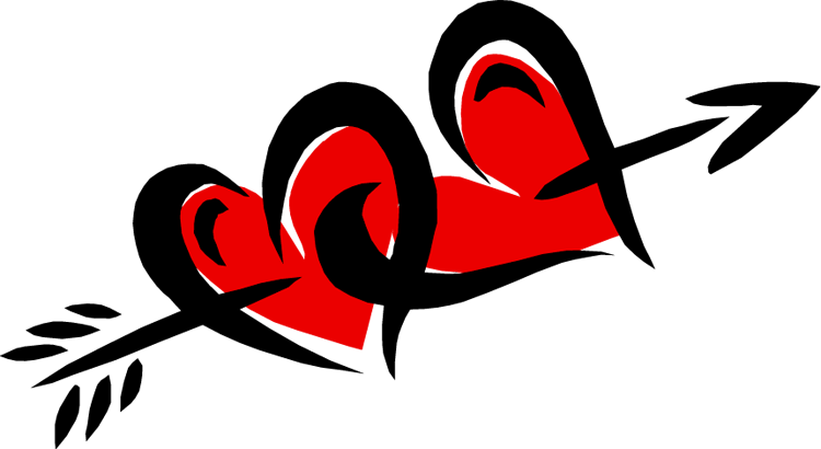 Arrow Love Clipart - Clipart Suggest