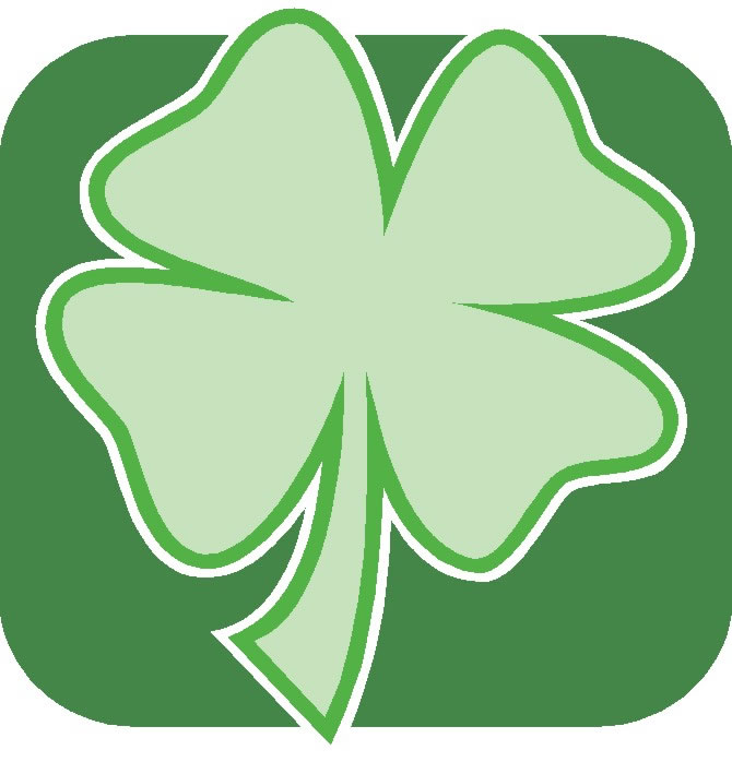 Assorted Graphics   Clover Background Jpg