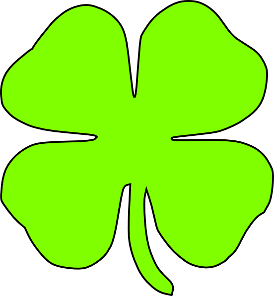 Clip Art 4-h Clover Clip Art 4 h clover clipart kid image search results