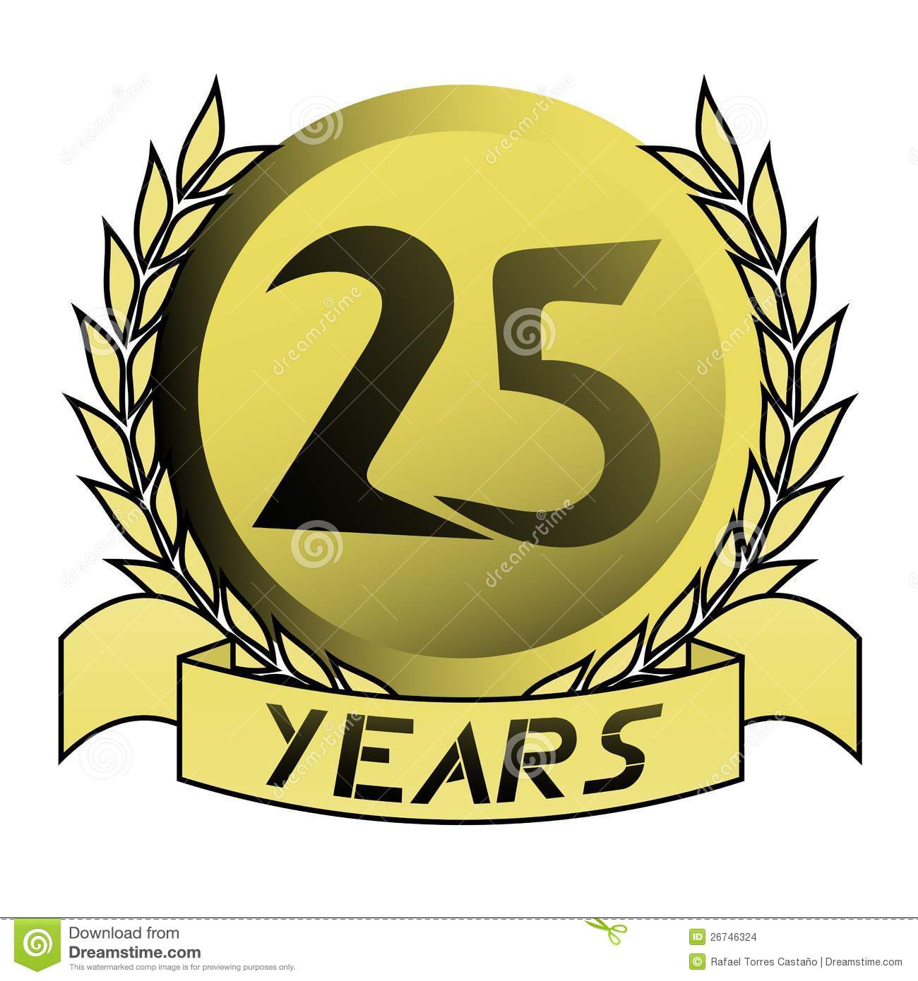 25 Years Of Service Clipart - Clipart Suggest