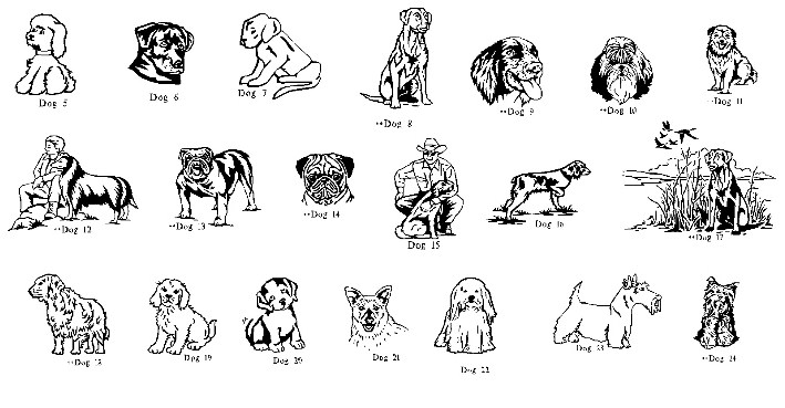 Dogs Clipart   American Headstones