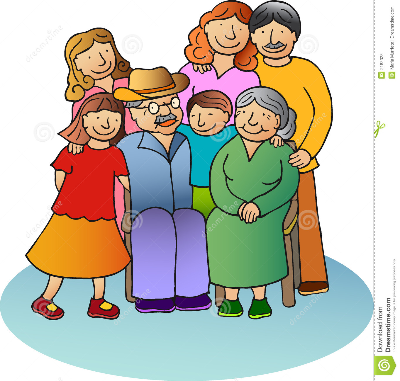 Family Of 4 2 Sisters Clipart   Cliparthut   Free Clipart