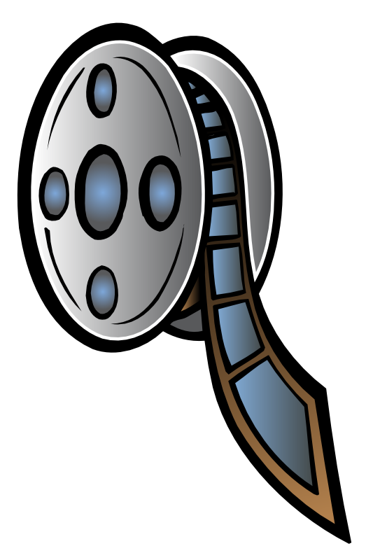 Movie Film Reel Clipart - Clipart Suggest