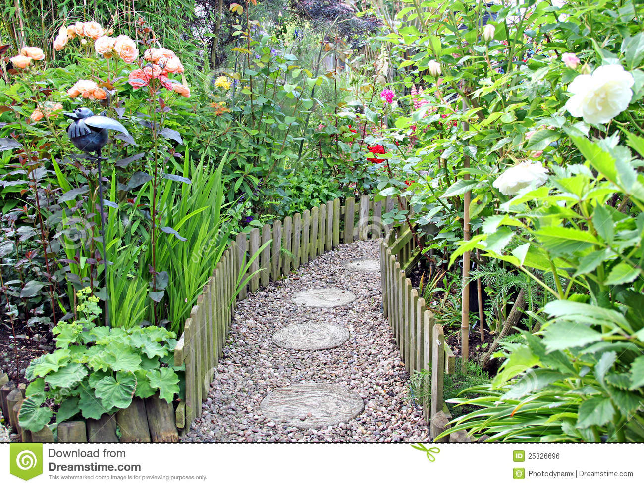 Secret Garden Path Royalty Free Stock Image   Image  25326696