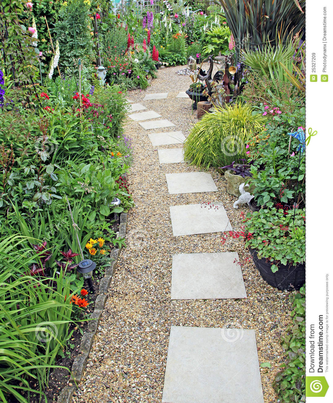 Secret Garden Path Royalty Free Stock Images   Image  25327209