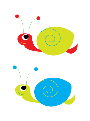 Secret Garden Snails Clipart   Meylah