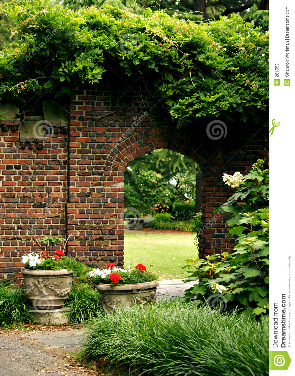 Secret Garden Stock Image   Image  2615591