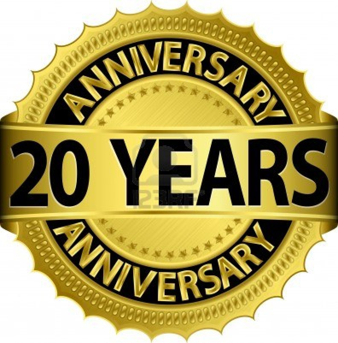 20 Year Anniversary Clipart - Clipart Kid