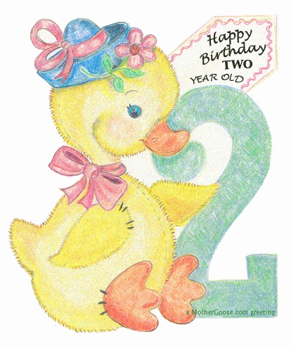 Vintage Happy Birthday Clip Art Pic  17