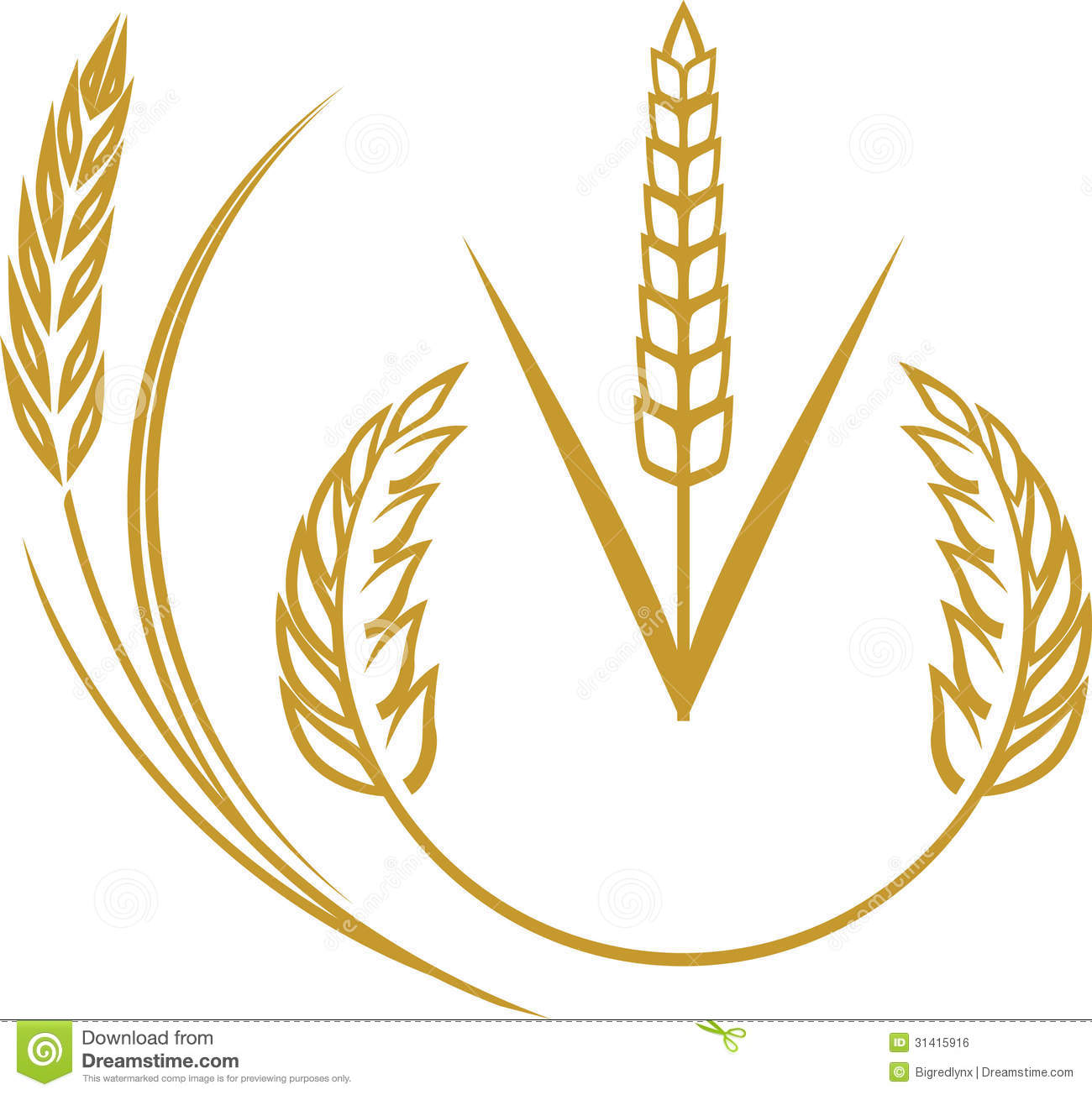 Wheat Harvest Black And White Clipart - Clipart Kid