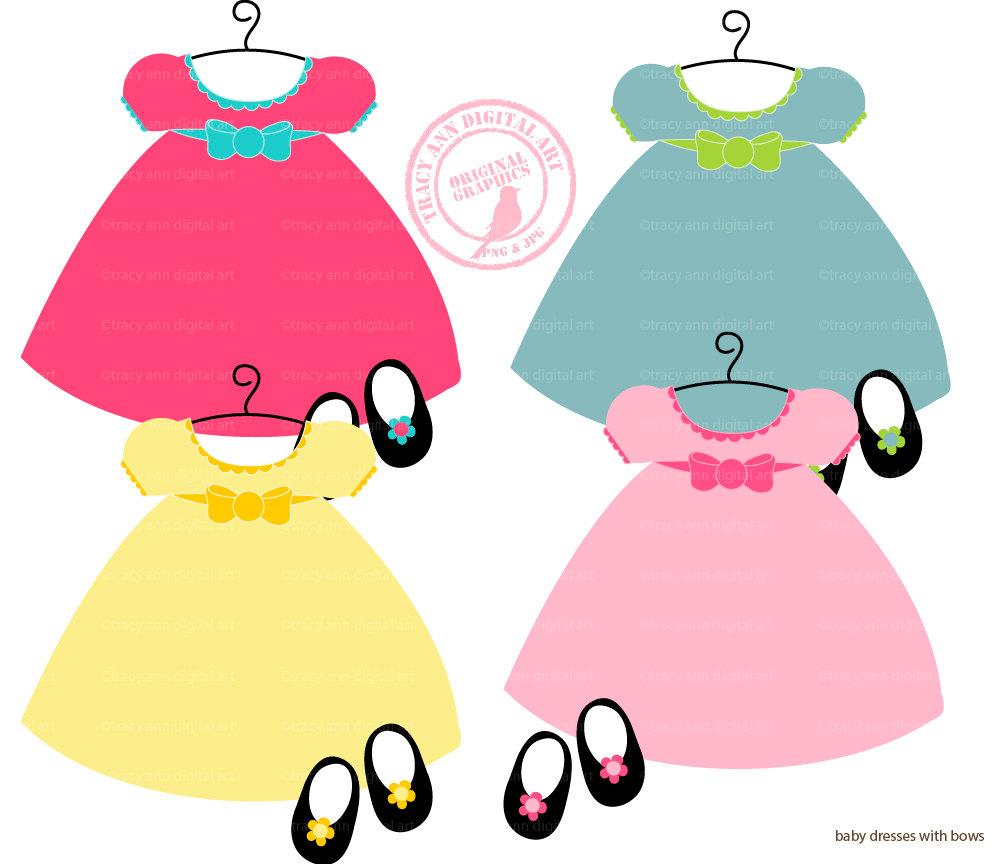 Clip Art Girl Clothes Clipart - Clipart Kid