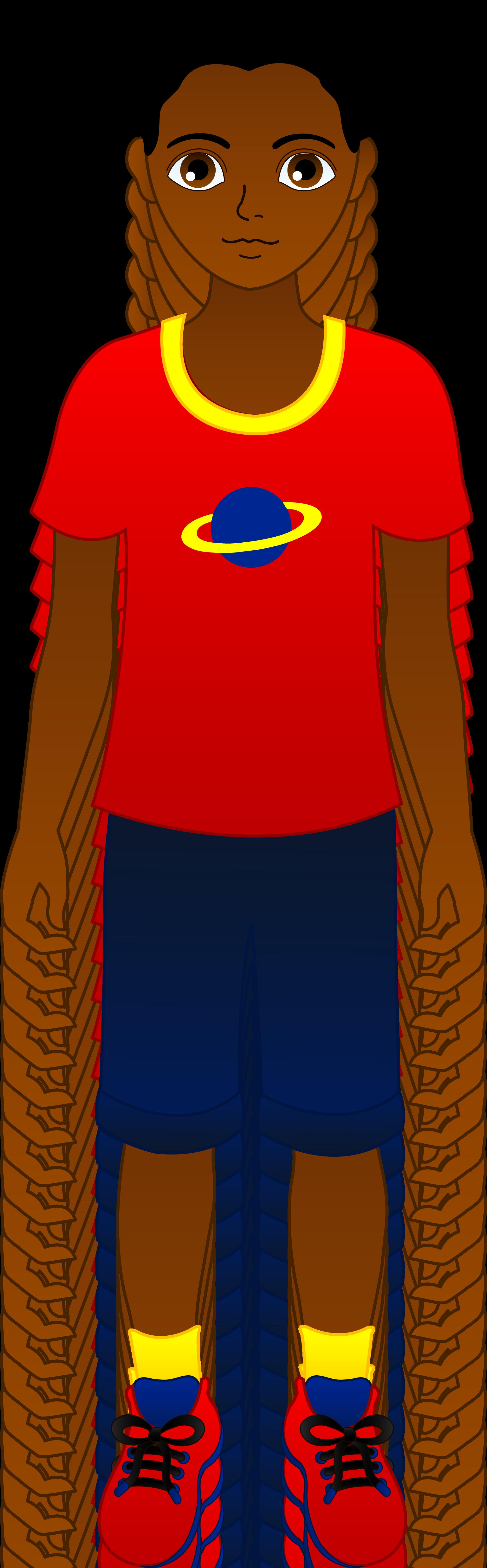 Clip Art African American Hair Clipart - Clipart Kid