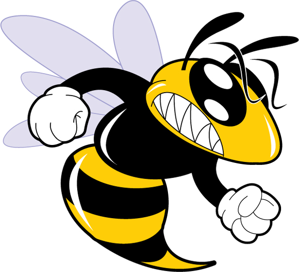 Angry Hornet Clipart - Clipart Kid